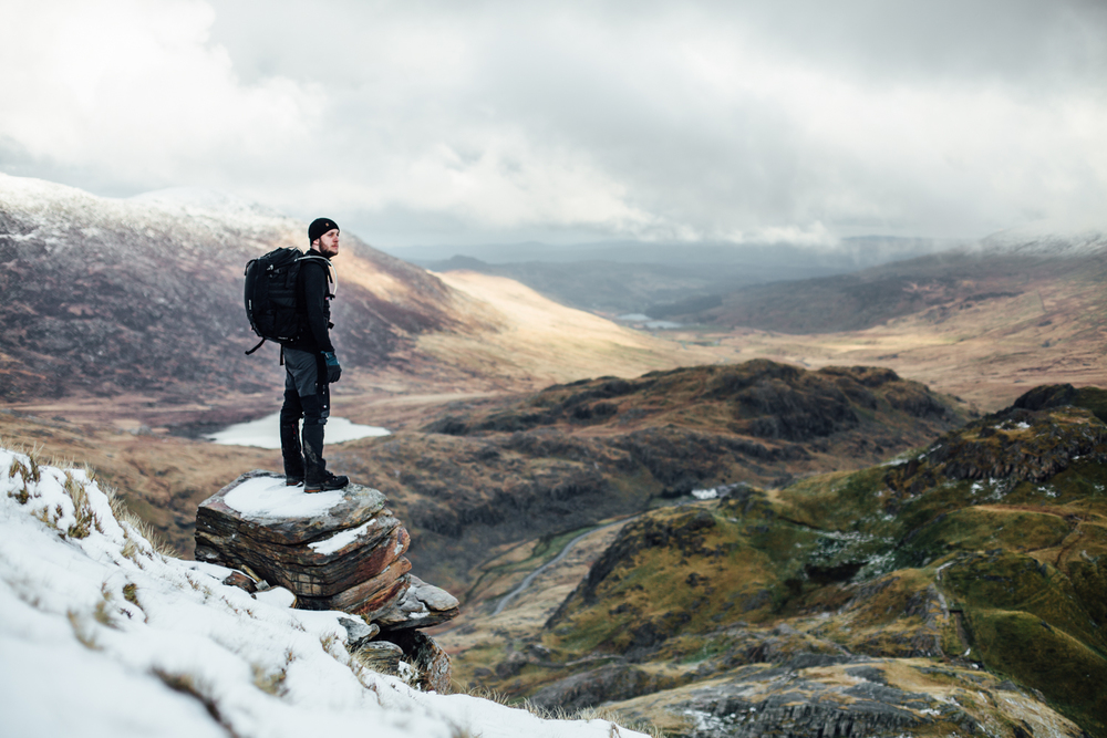 Stopping at the snowline for an ego-boosting portrait by Andy Ford.