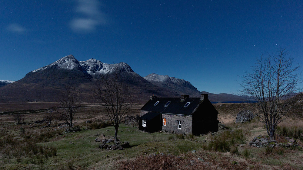 On location at Shenavall Bothy with Rab and Coldhouse Collective