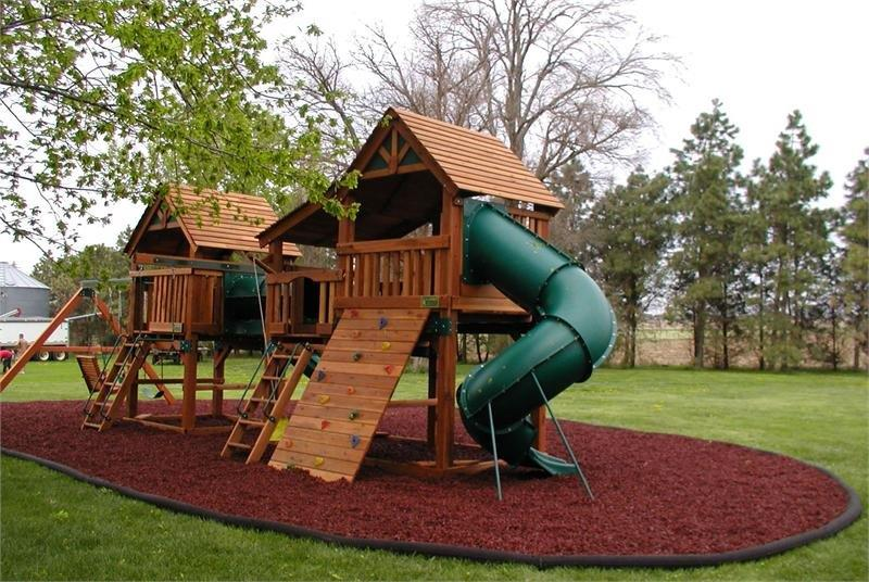 Residential Rubber Mulch Guardian Outdoor Surfaces