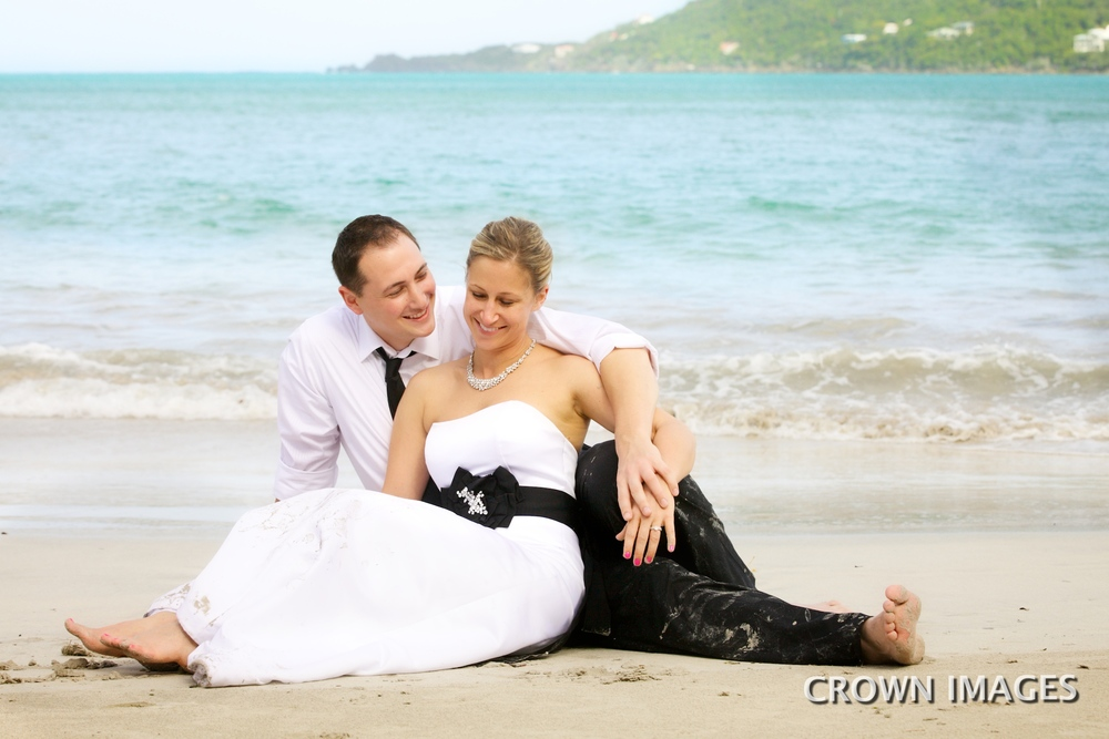 Trash the dress on your st thomas honeymoon crown images for Honeymoon in st thomas