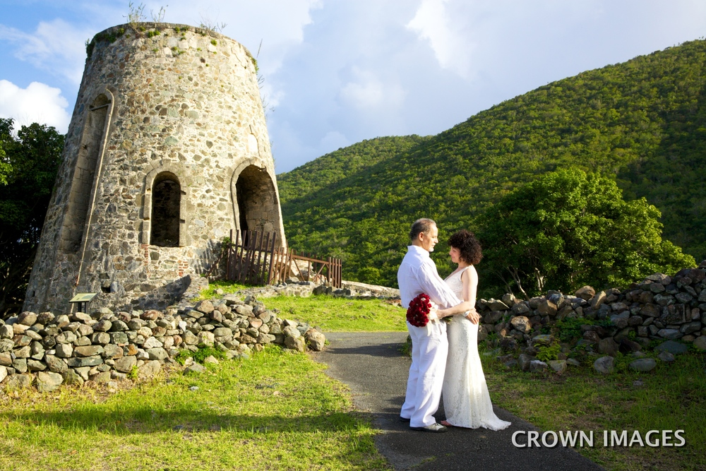 annaberg ruins st john wedding