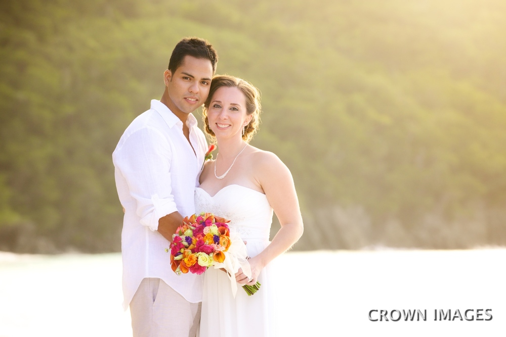 wedding photos on st john