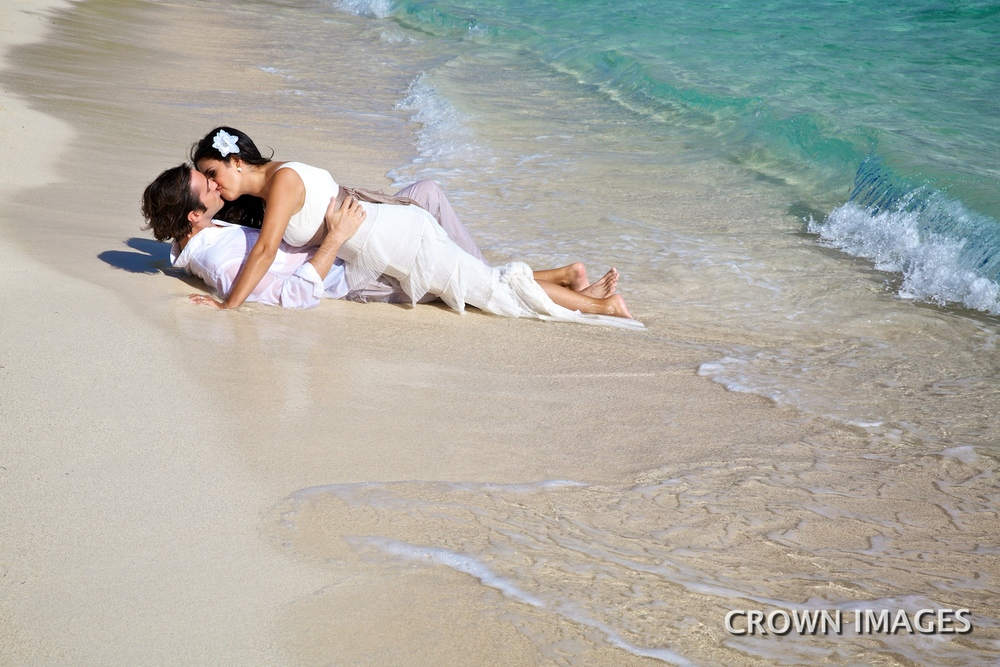 trash the dress wedding photos st thomas