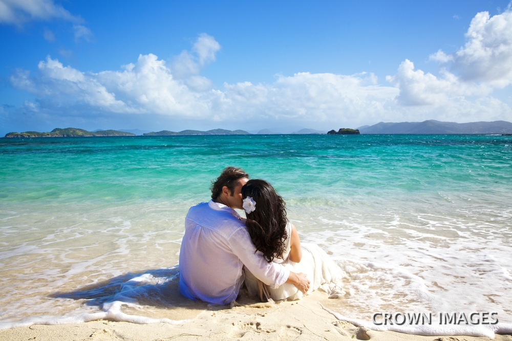trash the dress wedding photos virgin islands