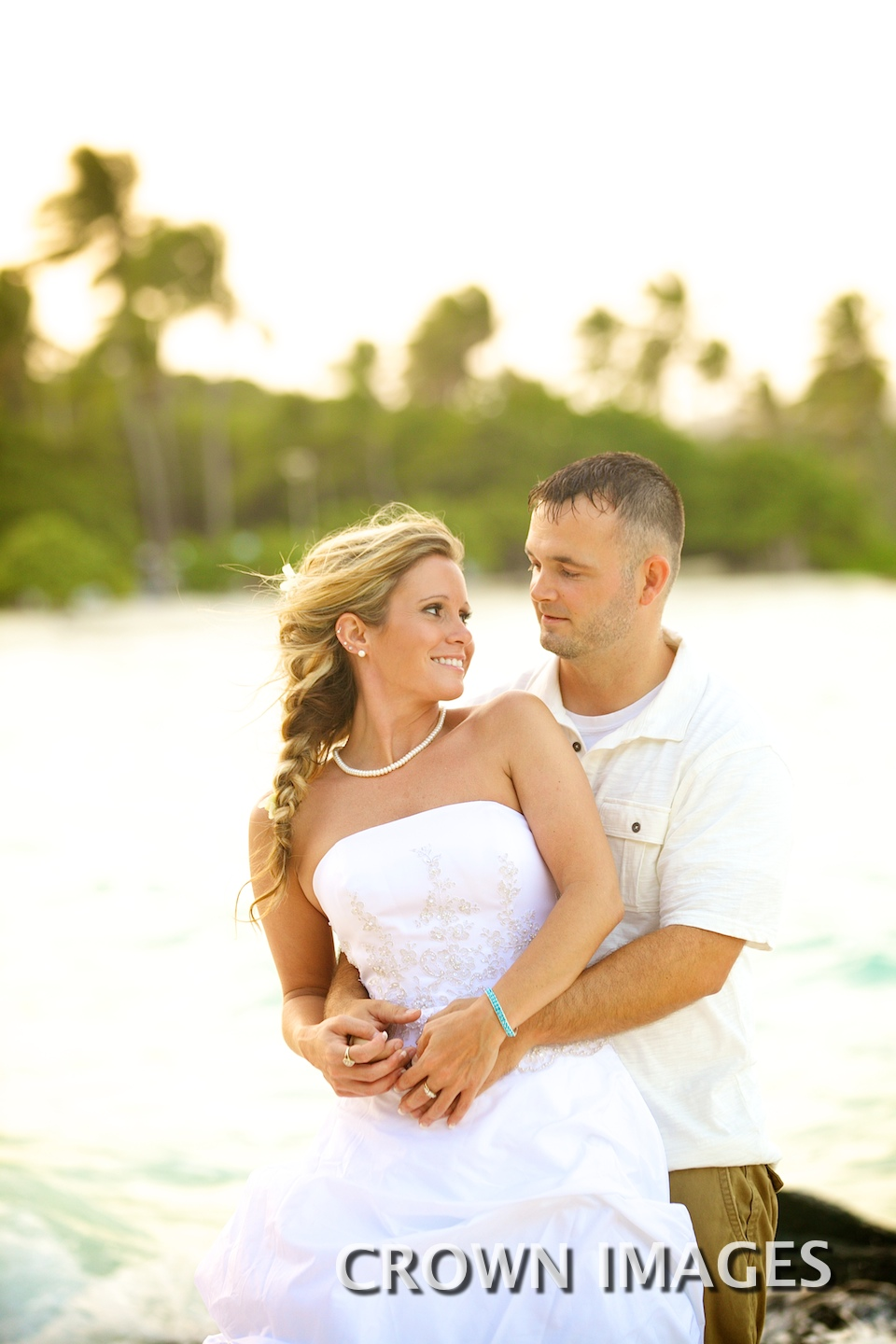 sunset wedding in the caribbean