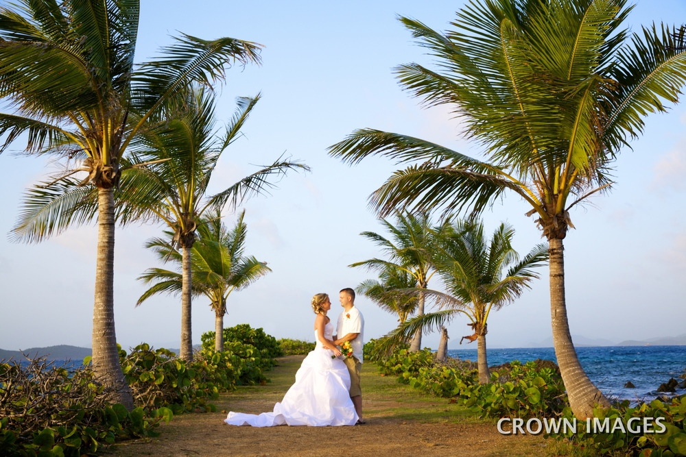 st thomas beach locations for a wedding