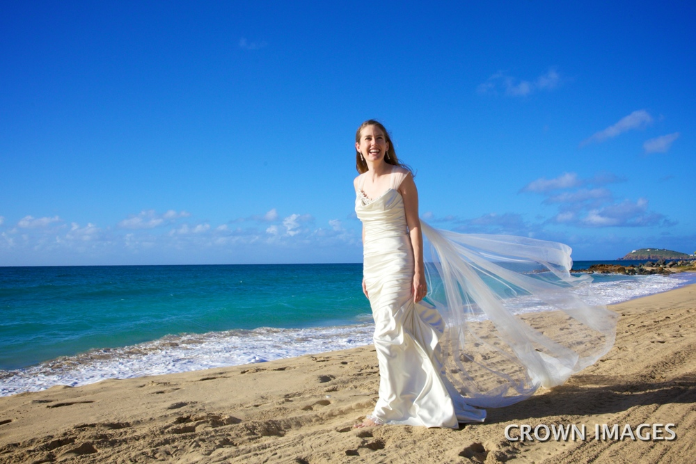 trash the dress on the beach virgin islands
