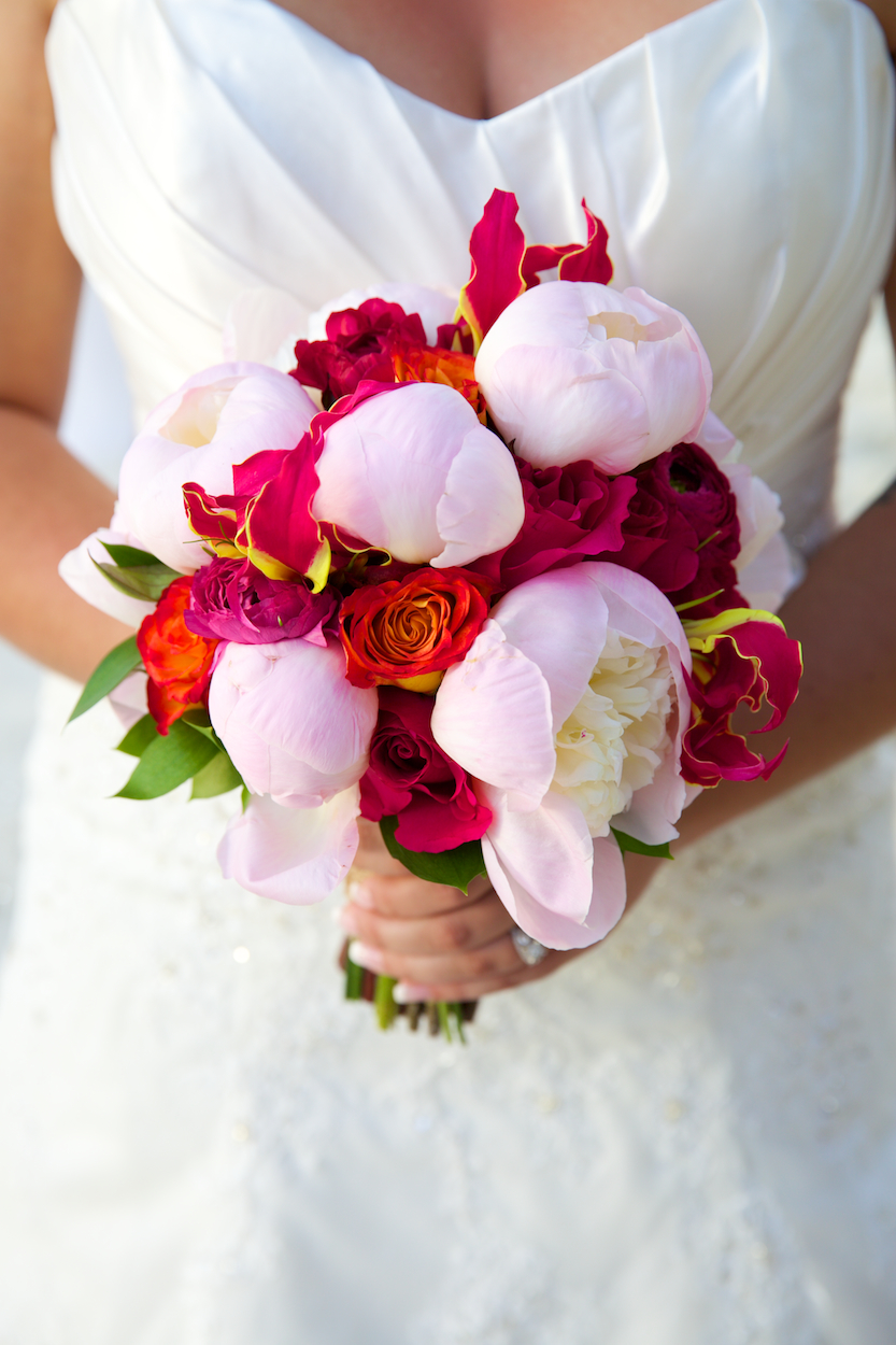 wedding flowers st john