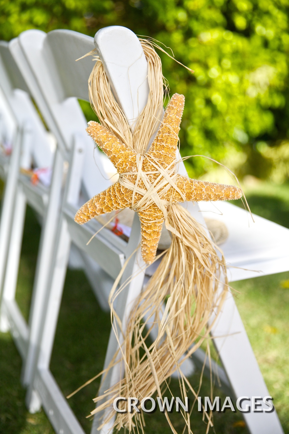 chair details destination wedding