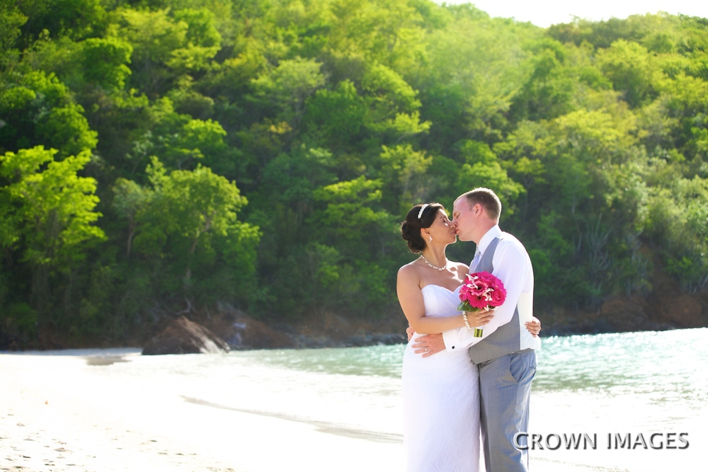 st thomas beach wedding