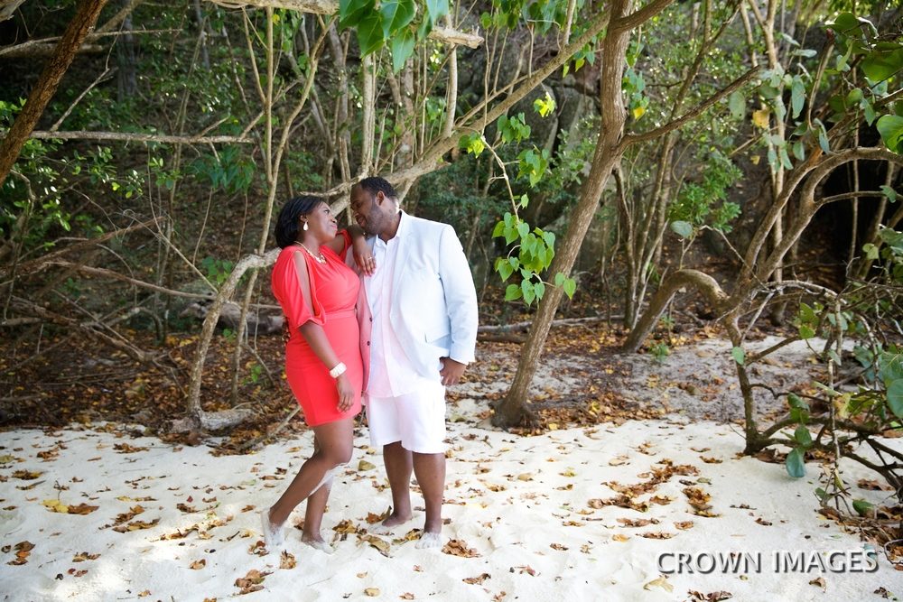 engagement photos on st john