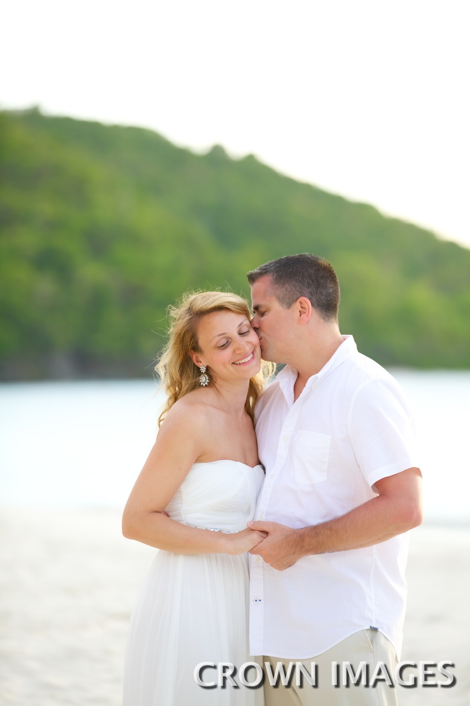 vow renewal on trunk beach