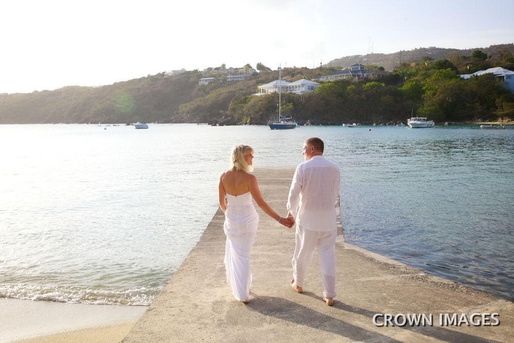 sunset locations on st thomas for wedding