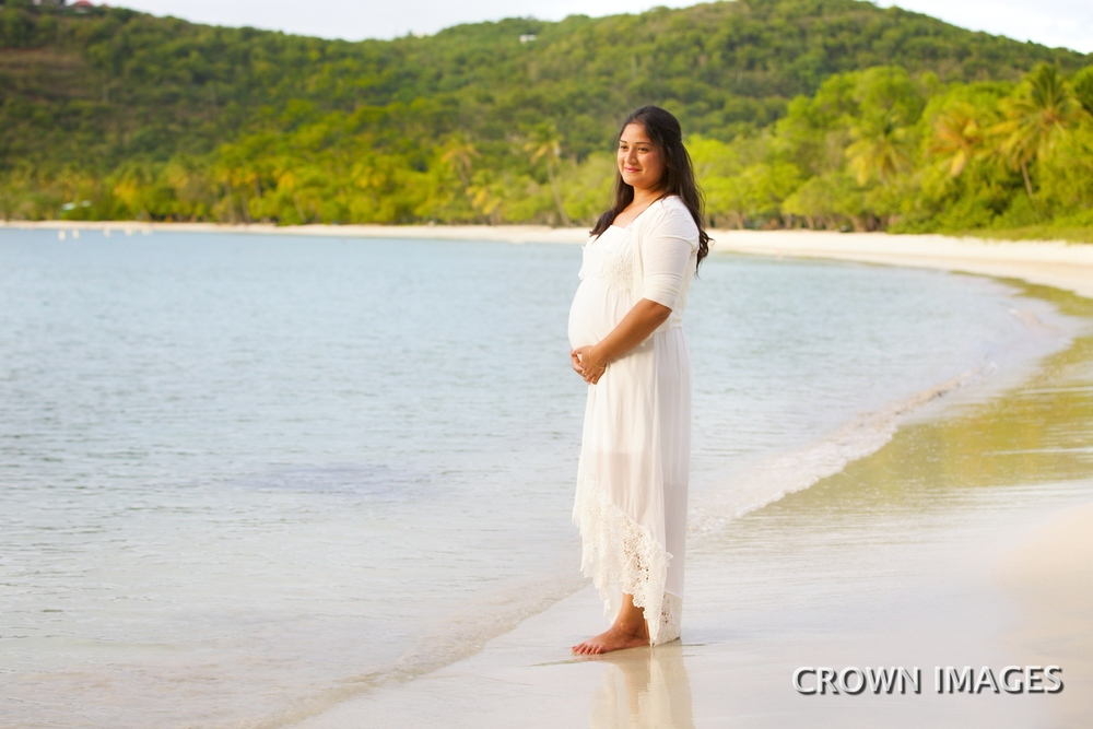 maternity photos on st thomas