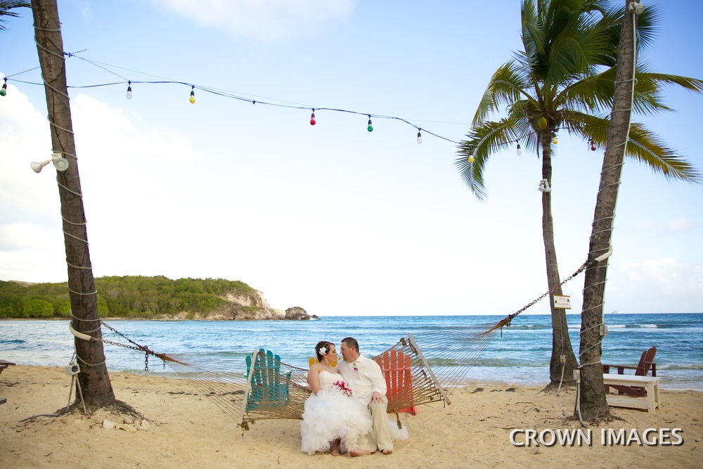 bolongo bay resort beach wedding