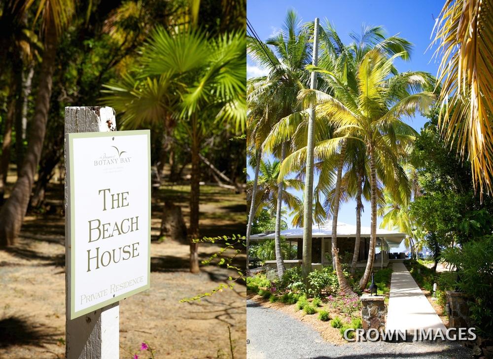 beach house wedding photos on st thomas