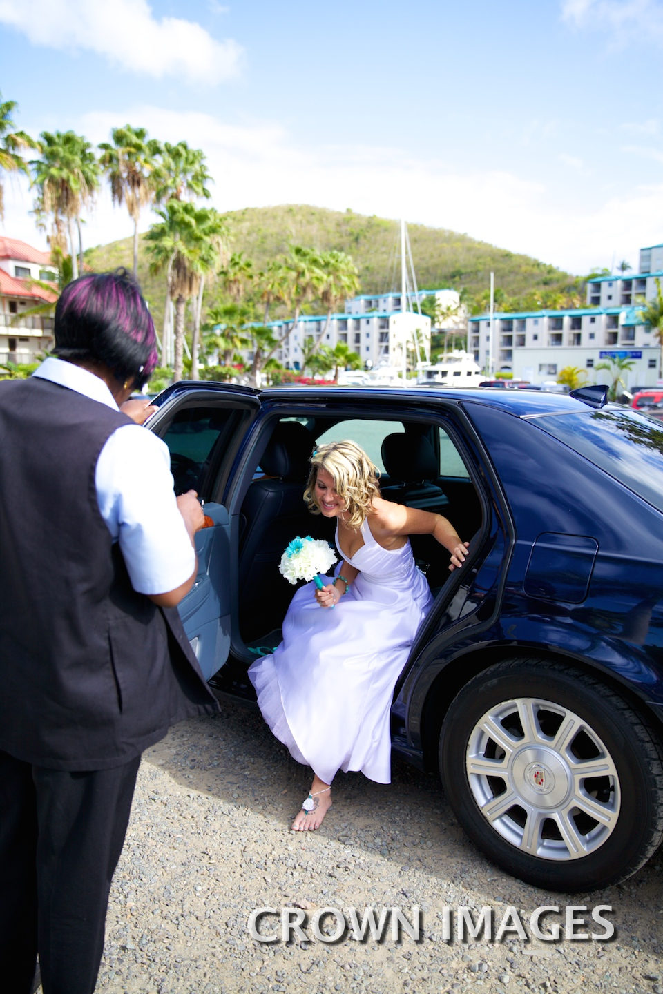 limo transportation for a wedding st thomas
