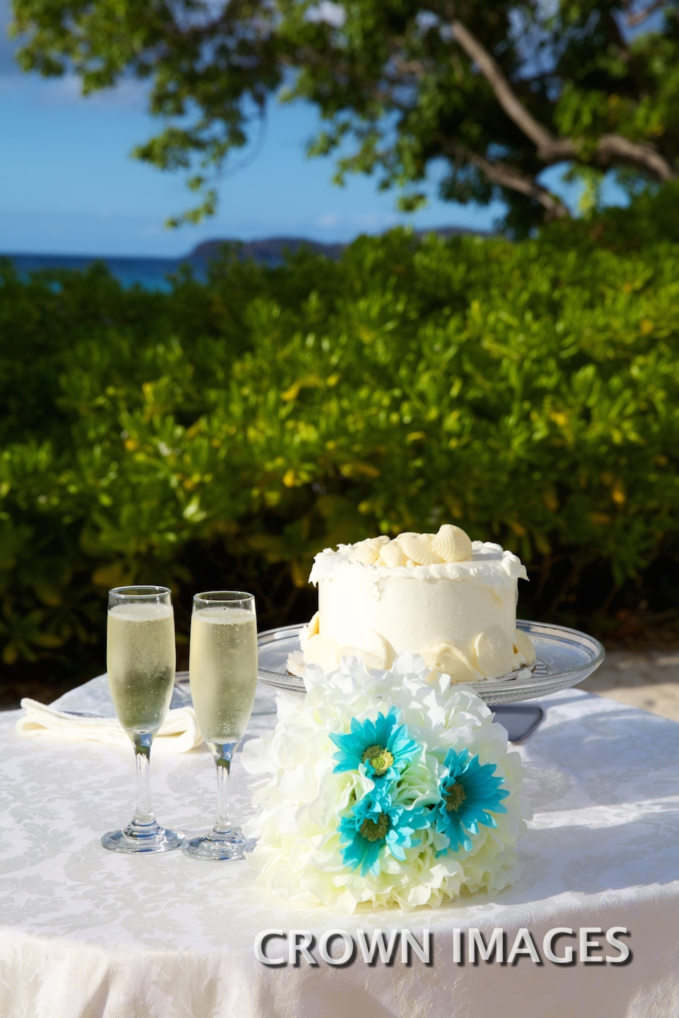 wedding cake on st thomas