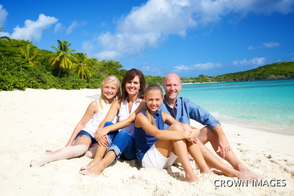 professional family photos on st john
