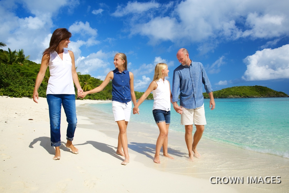 professional family photos in the us virgin islands