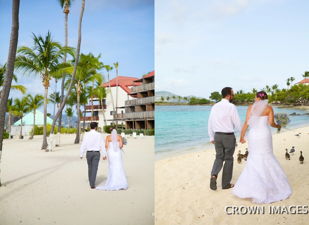 sapphire beach wedding on st thomas