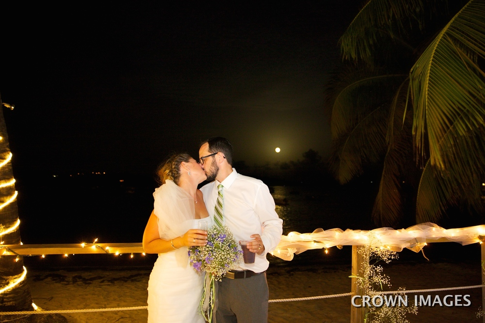 full moon wedding st thomas