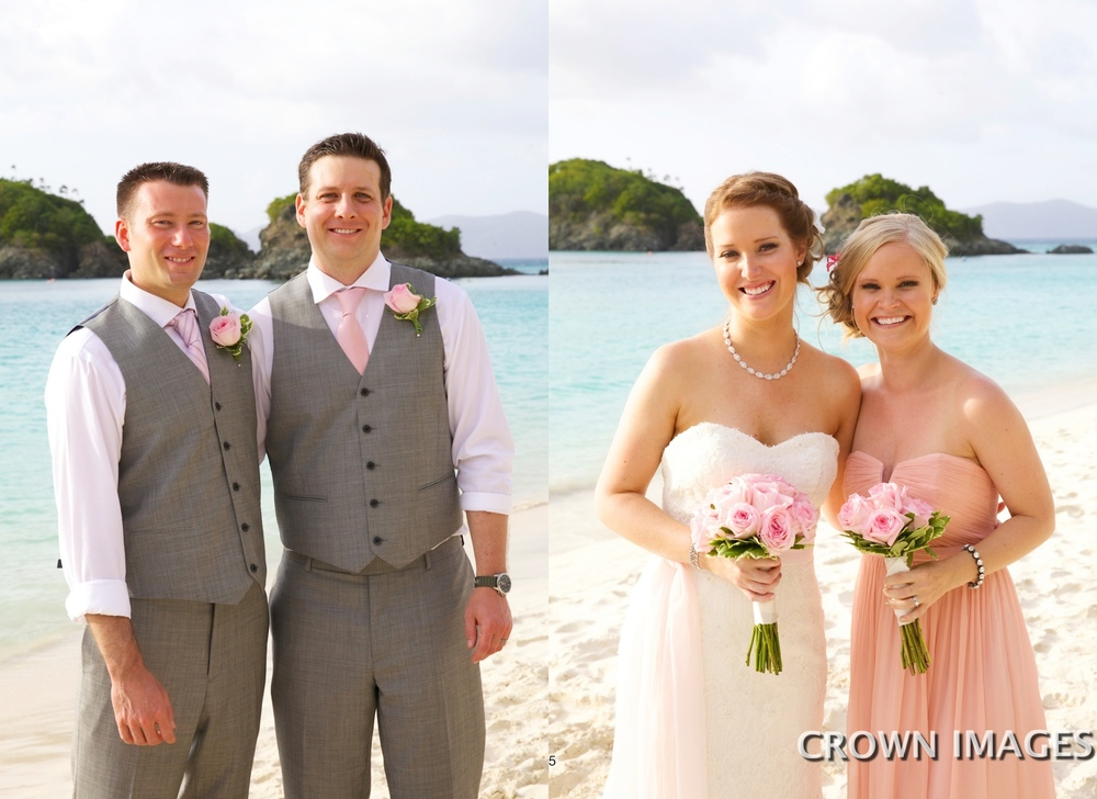 weddings on the beach virgin islands