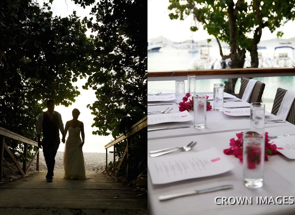 virgin islands wedding reception