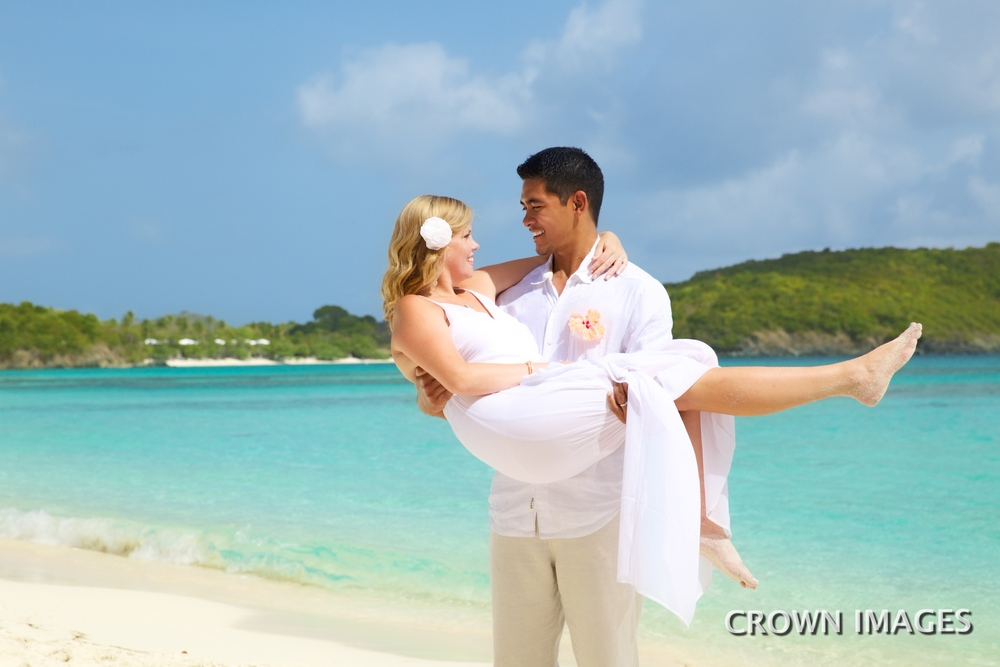 fun wedding photos st thomas