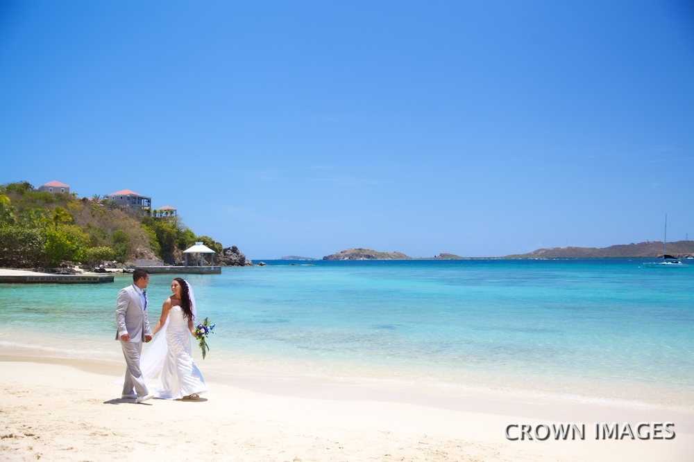 st thomas wedding locations on the beach
