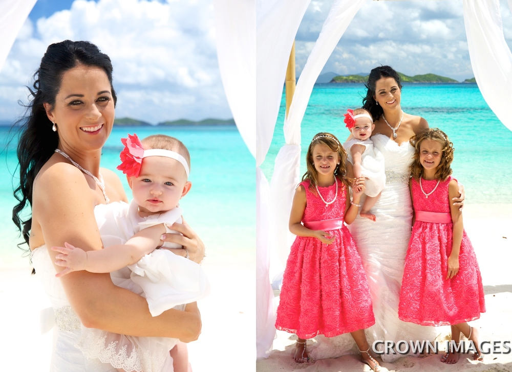 wedding photos on st thomas virgin islands by crown images