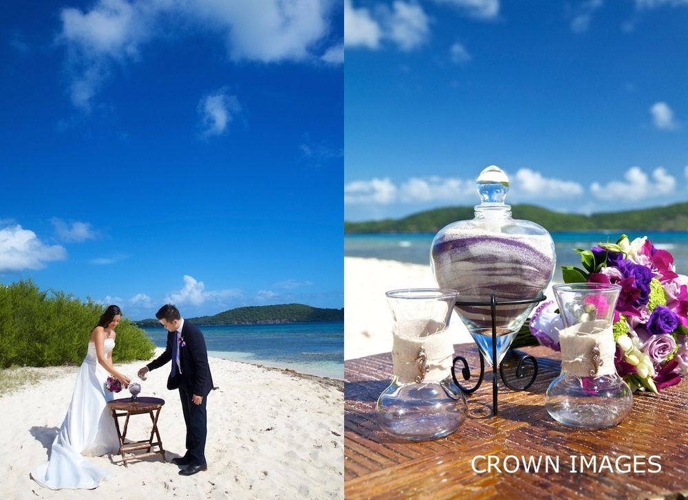 virgin islands wedding photo by crown images