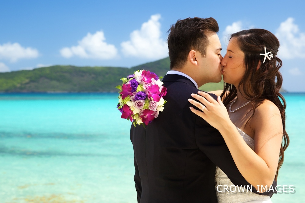 island bliss wedding virgin islands photo by crown images