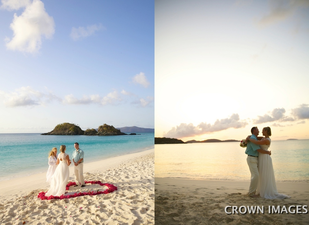 wedding planner on st john
