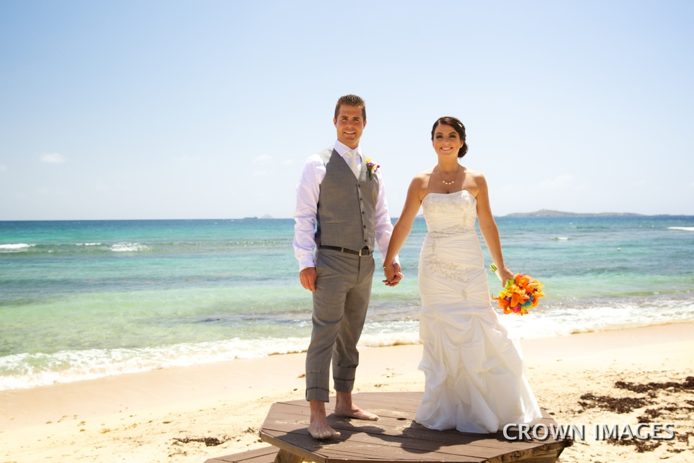 bolongo bay wedding photos on st thomas