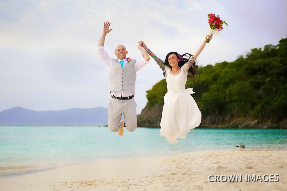 fun beach wedding ideas virgin islands