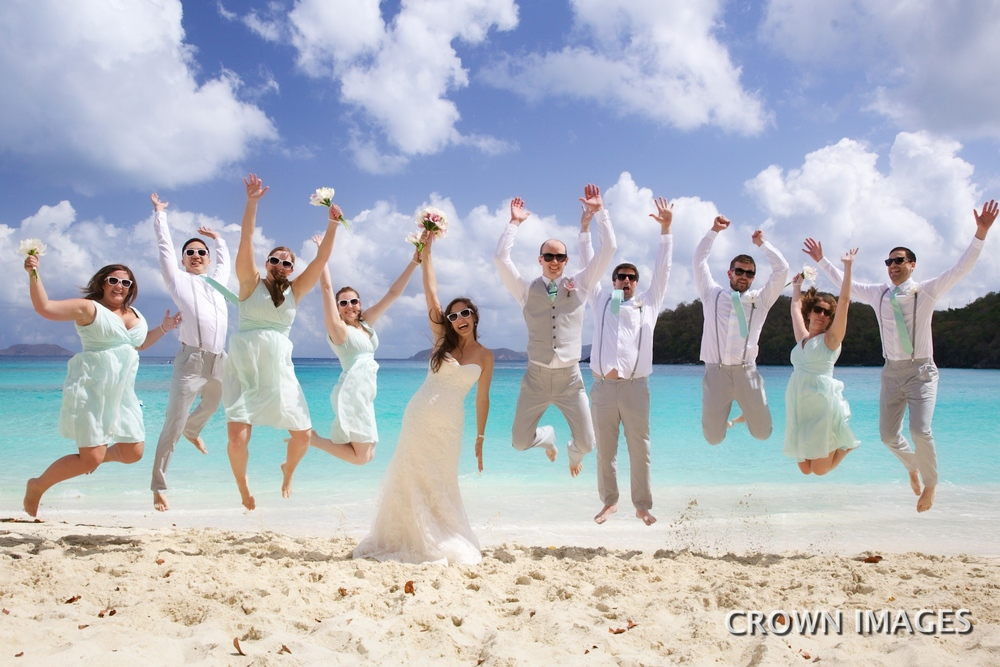 st john wedding locations on the beach