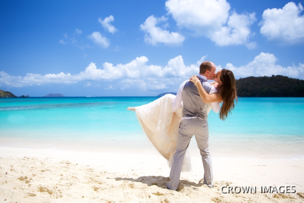 best wedding location on st john