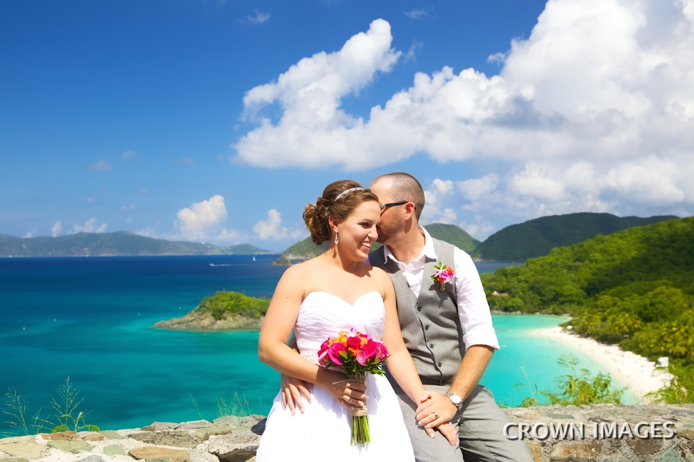 location ideas for st john wedding trunk bay overlook