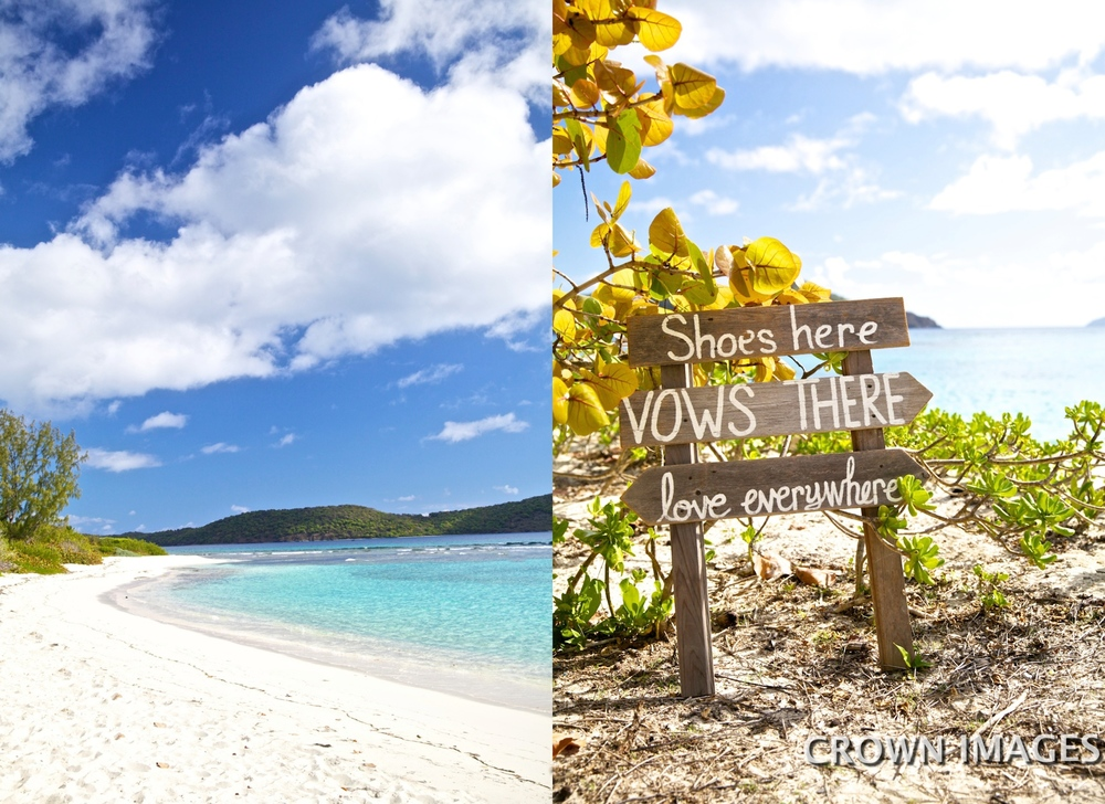 wedding locations on the beach virgin islands st thomas