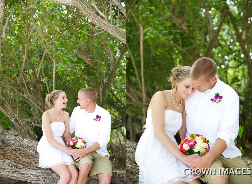 wedding photos on the beach