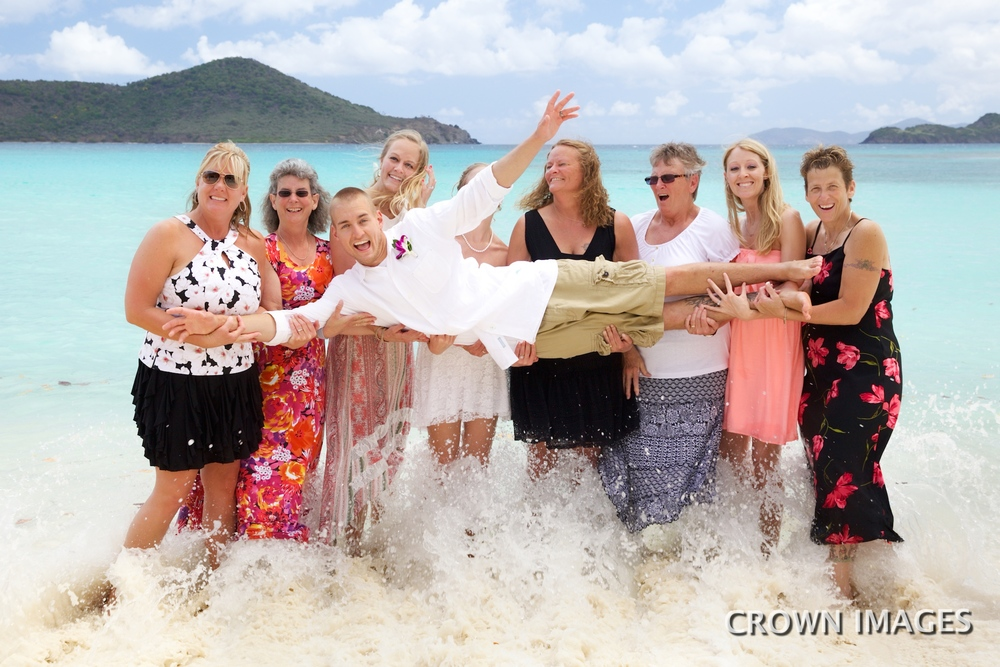 lindquist beach wedding photos