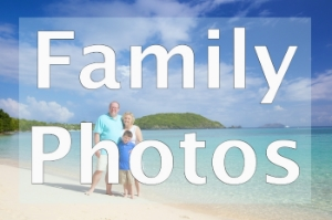 family photos on st thomas in the us virgin islands