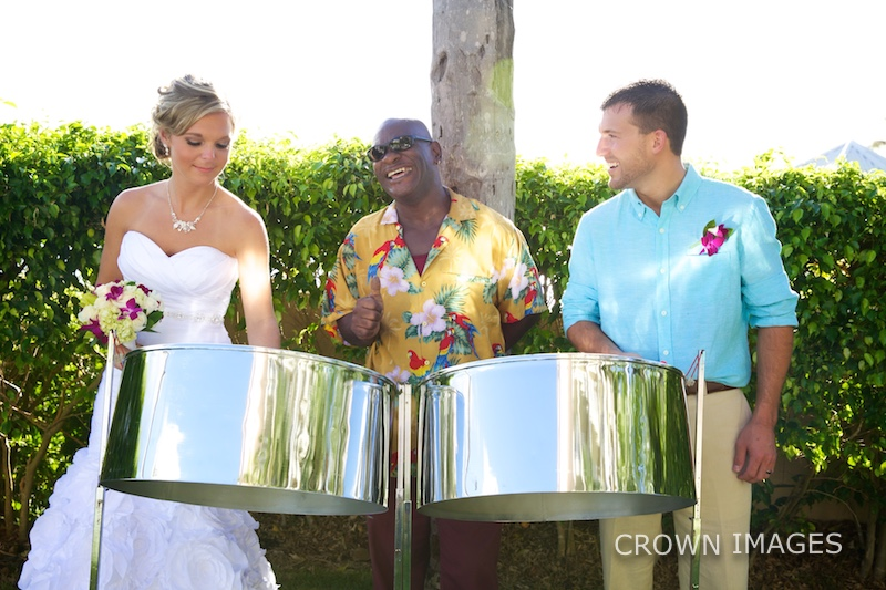 live music at a virgin islands wedding