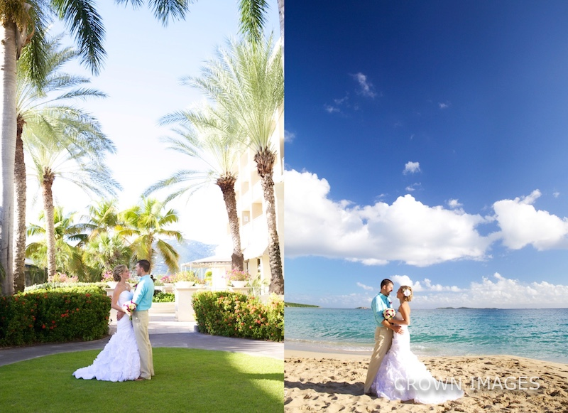 wedding photography on st thomas