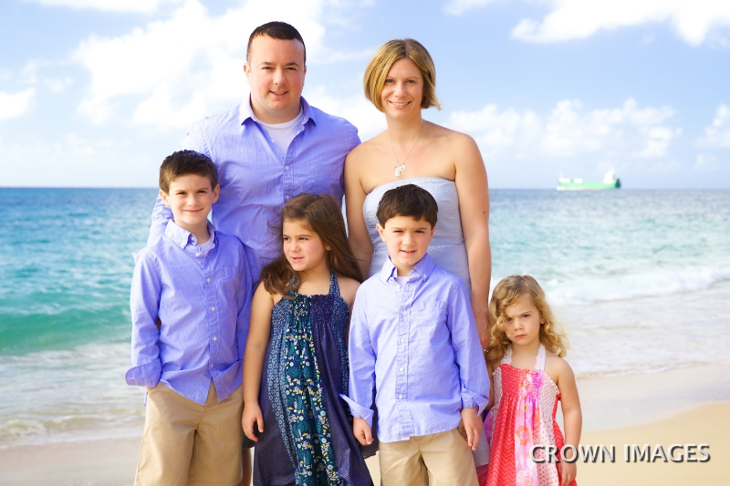 family photos on st thomas