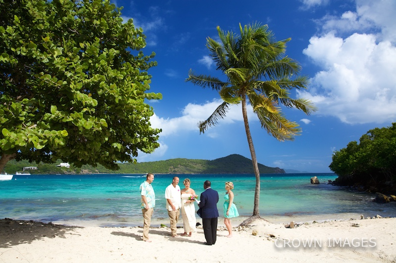 st thomas resort wedding the beach photo by crown images