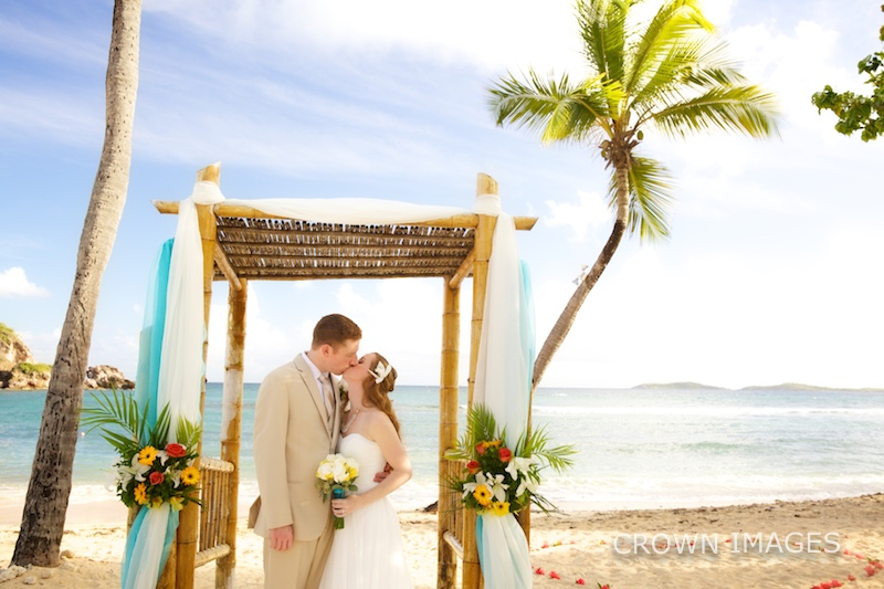 resort wedding on st thomas in the virgin islands