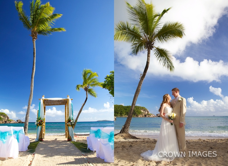 wedding location at a st thomas resort