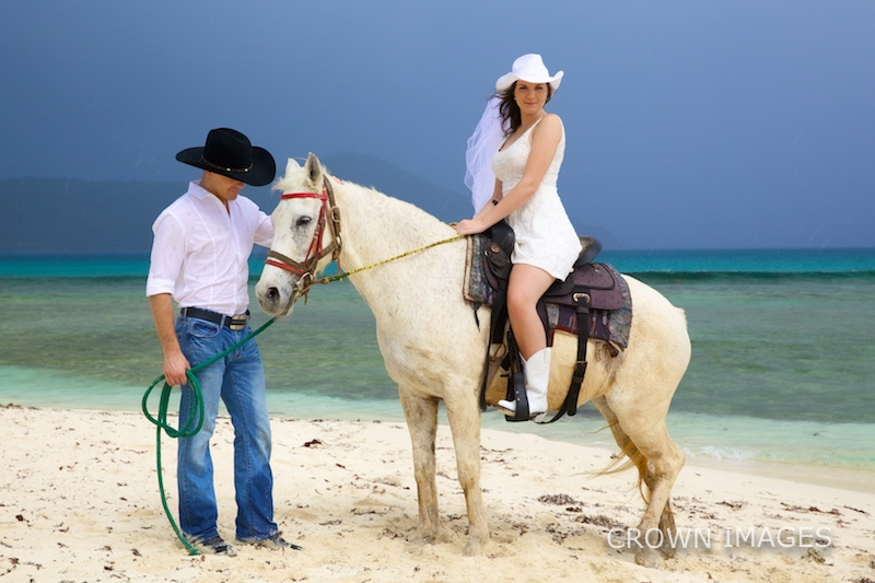 wedding photos on st thomas by crown images